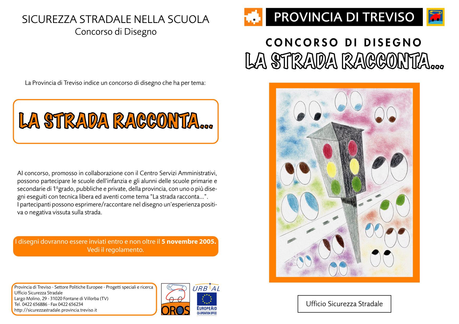 """CONCORSO DI DISEGNO """"LA STRADA RACCONTA..."""""""